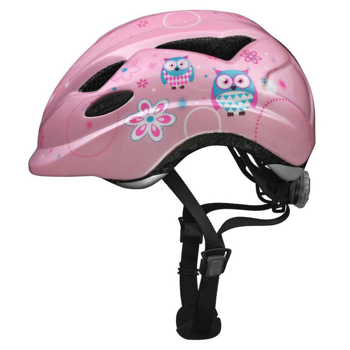 Велосипедний дитячий шолом ABUS ANUKY S Rose Owl