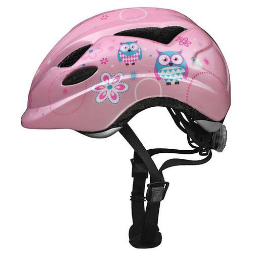 Велосипедний дитячий шолом ABUS ANUKY S Rose Owl, фото 2