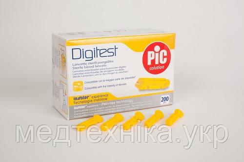 Ланцеты Digitest стерильные универсальные 30G ( 0,30 мм ), 200 шт., Италия