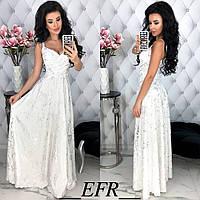 Женское модное летнее платье в пол