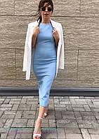 Женское платье футляр в расцветках, фото 1