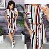 Женское летнее платье в разных принтах
