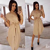 Женское стильное платье рубашка мод.2361, фото 1