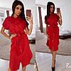 Женское стильное платье рубашка мод.2361