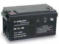 Герметичная свинцово-кислотная аккумуляторная батарея серии SPb тип SPb 12-75 Ач SUNLIGHT (Греция).