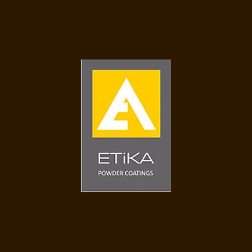"""Порошковая полиэфирная краска RAL 8017 мат """"ETIKA""""  (Турция)"""