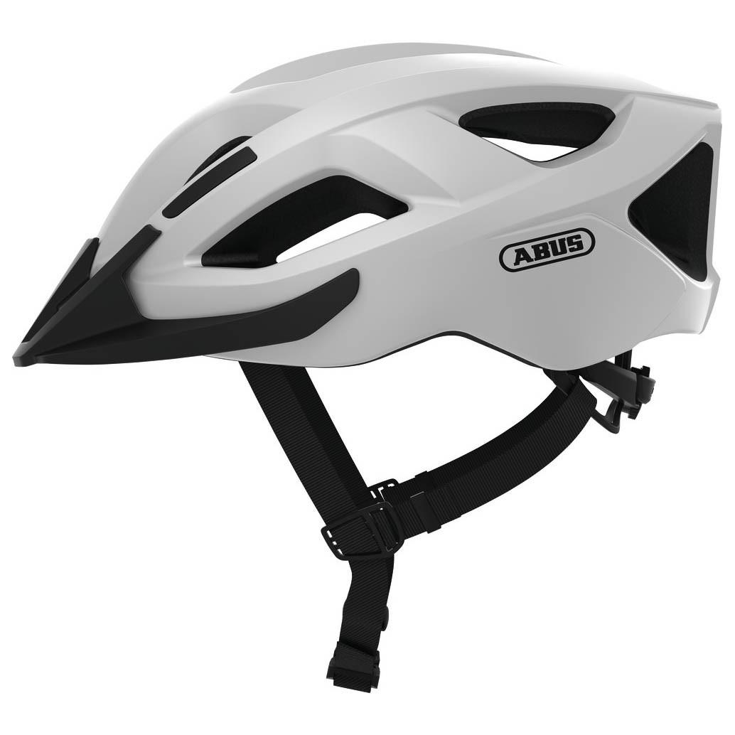 Шолом велосипедний ABUS ADURO 2.1 S Polar White