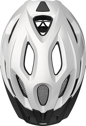 Шолом велосипедний ABUS ADURO 2.1 S Polar White, фото 2