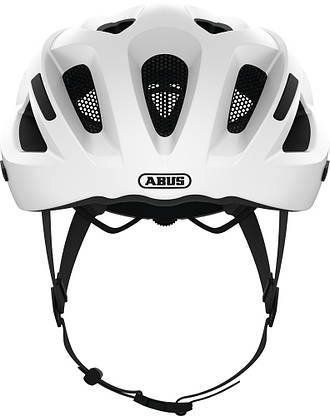 Шолом велосипедний ABUS ADURO 2.1 S Polar White, фото 3