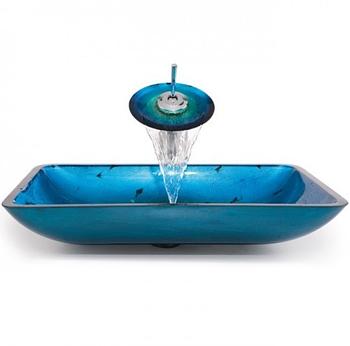 Комплект стеклянный - водопад C-GVR-204-RE-15MM-10