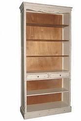 Книжный шкаф из натурального дерева в стиле кантри (104*40*220).