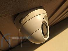 Установка видеонаблюдения дома 1