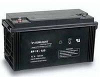 Герметичная свинцово-кислотная аккумуляторная батарея серии SPb тип SPb 12-120 Ач SUNLIGHT (Греция).