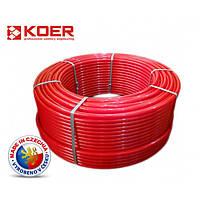 Труба KOER PE-RT 16x2 с кислородным барьером (Чехия)