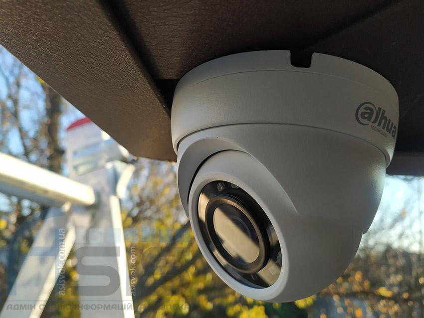 Установка видеонаблюдения дома