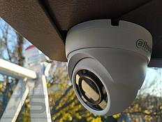 Установка видеонаблюдения дома 3