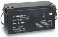 Герметичная свинцово-кислотная аккумуляторная батарея серии SPb тип SPb 12-150 Ач SUNLIGHT (Греция).