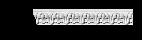 Молдинг для стен с орнаментом Classic Home 3-0320, лепной декор из полиуретана