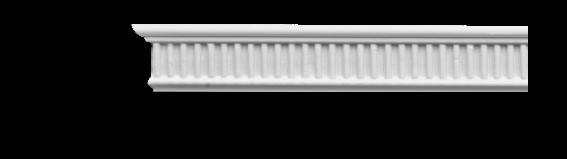Молдинг для стен с орнаментом Classic Home 3-0360, лепной декор из полиуретана