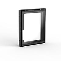 Дверцята сталева для каміна 320×380 мм серійна
