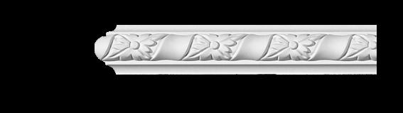 Молдинг для стен с орнаментом Classic Home 3-0401, лепной декор из полиуретана