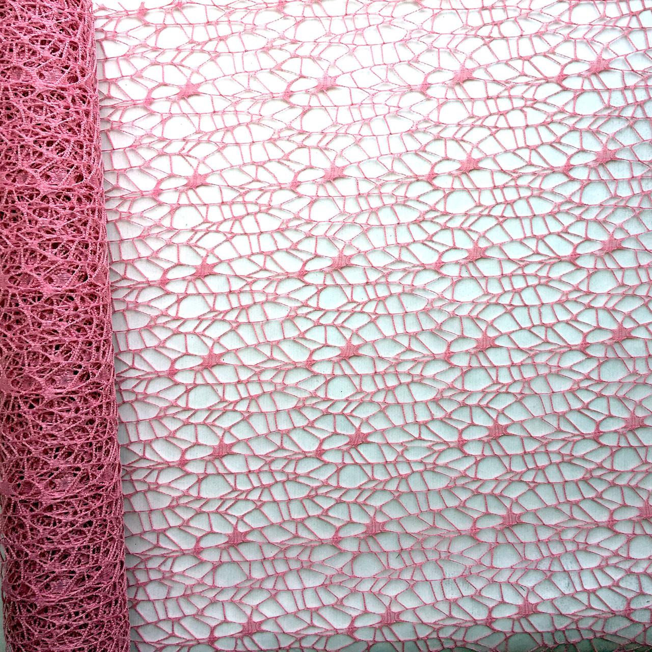 Флористична сітка Poly net 1 маджента 53 см х 5 ярдів