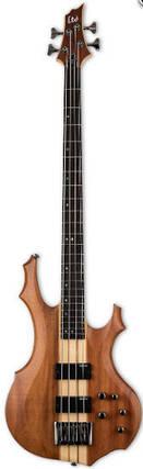 Бас гитара LTD F-4E (Natural Satin), фото 2