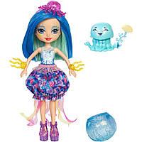 Кукла Энчантималс Медуза Джесса Enchantimals Jessa Jellyfish Dolls меняет цвет волос джеса джелифиш