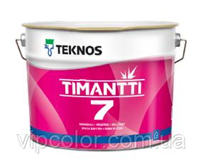 TEKNOS TIMANTTI 7 Акрилатная краска для внутренних работ База 3 2,7л