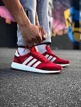Кроссовки Adidas Iniki Red (Адидас Иники красные)
