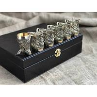 Набор бронзовых чарок Благородство, фото 1