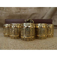 Набор бронзовых чарок Бочка, фото 1