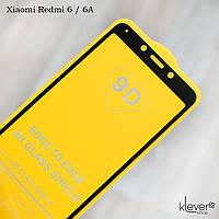 Защитное стекло для Xiaomi Redmi 6A, Full Glue