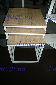 Стол журнальный Кубо (3 в 1) от Металл Дизайн с доставкой