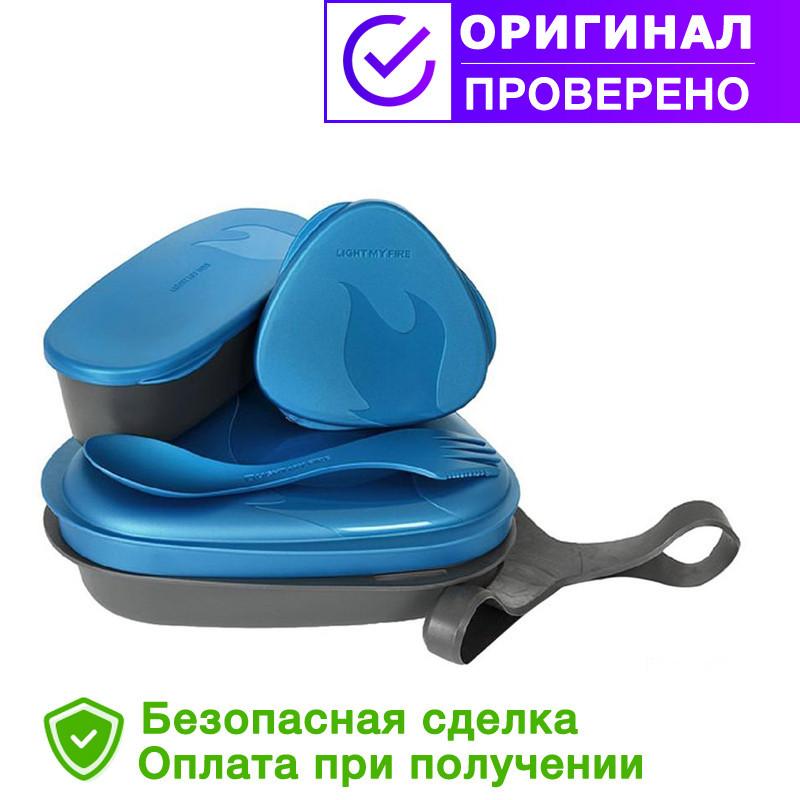 Туристическая посуда набор Light My Fire Pack-n-Eat Kit Blue-Black ( 50687940)