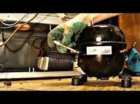 Замена мотора - компрессора в  холодильнике