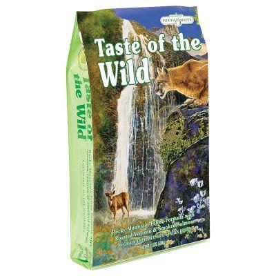 Taste of the Wild Rocky Mountain корм для кошек с мясом жареной оленины и копченым лососем, 7 кг