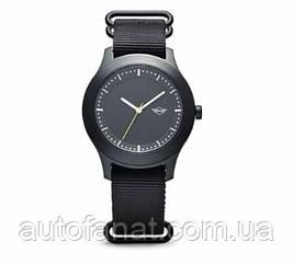 Оригинальные наручные часы MINI Wing Logo Watch Unisex, Black (80262445726)