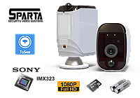 Аккумуляторная Wi-Fi IP-камера 2Мп Sparta SSA20R10-8G