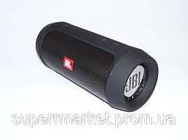 JBL Charge2+, беспроводная колонка с FM Bluetooth MP3 USB microSD Powerbank, black, фото 2
