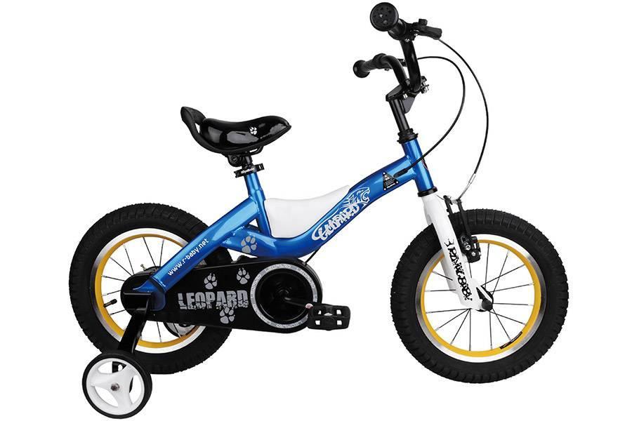 """Велосипед RoyalBaby Leopard 14"""", синий"""