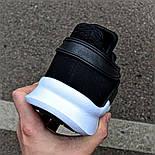 Мужские кроссовки Adidas EQT Support ADV черные с белым летние в сетку. Живое фото (Реплика ААА+), фото 3