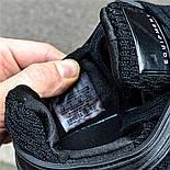 Мужские кроссовки Adidas EQT Support ADV черные с белым летние в сетку. Живое фото (Реплика ААА+), фото 5