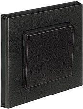 Оникс/дымчатый черный LEVIT ABB