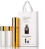 Мужские духи Gucci By Gucci Pour Homme edt с феромонами 45ml (3 по 15)