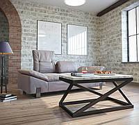 Стол журнальный Лонг Бент 540*1100*600 от Металл Дизайн