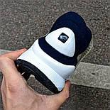 Мужские кроссовки Nike Sock Dart Blue&White синие с белым летние. Живое фото (Реплика ААА+), фото 3