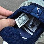 Мужские кроссовки Nike Sock Dart Blue&White синие с белым летние. Живое фото (Реплика ААА+), фото 4