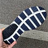 Мужские кроссовки Nike Sock Dart Blue&White синие с белым летние. Живое фото (Реплика ААА+), фото 5