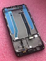 Дисплейный модуль Xiaomi Redmi 4x черный (оригинал) с рамкой